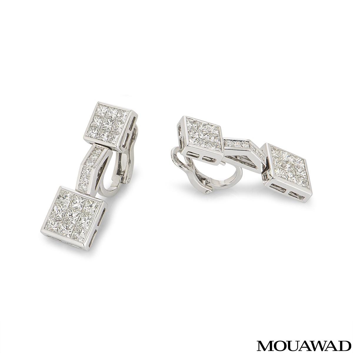 Mouawad Diamond Earrings